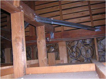 耐震リフォーム 金物補強 耐震壁下地サムネイル